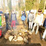 Kurzfreizeit Kaufunger Wald 2018 - 05 Feuerstelle